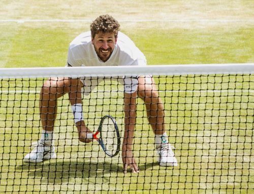 Robin Haase over de Wimbledon Exhibitions